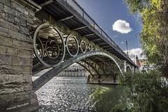 Spain - Seville - Puente de Isabel II (Puente de Triana) (Marcial Bernabeu) Tags: bridge espaa rio river puente sevilla andaluca spain guadalquivir seville andalucia isabel andalusia bernabeu triana marcial bernabu