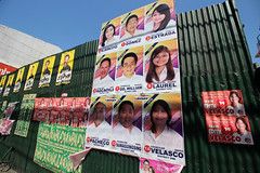 Elections 2016 campaign signs 05 (_gem_) Tags: street city urban sign typography words text philippines politicians signage manila type metromanila politicianssigns elections2016