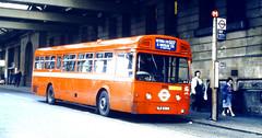 Slide 057-73 (Steve Guess) Tags: uk red england bus london station mba transport waterloo merlin gb arrow lambeth aec route507