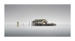 Palafitte 1 (Rohan Reilly Photography) Tags: longexposure venice italy landscape italia shed lagoon panoramic shack venezia springcleaning fiching