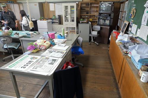 旧上岡小学校 職員室3