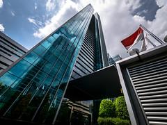 Menara Palma (Henry Sudarman) Tags: building tower architecture lumix design panasonic officetower skyscrapper 714 arsitektur gm1 indonesiajakarta utlrawidelens