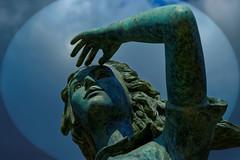 l'ESPERANCE - GRAU DU ROI (thierrymuller) Tags: sky france art statue french soleil photo nikon esperance frenchtouch grauduroi d610 mamanano nikonpassion thierrymuller elpadrepicture