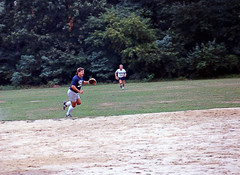 Hutley's August 1988. Town of Islip Men's Softball Championship Playoffs! (BruceLorenz) Tags: street new york ny st by bar ed island one town championship team pub long main tavern 1984 mens playoffs softball eighties now 1980s murray roofing maxwells 501 islip lessings hutleys hutleys501 stislipny
