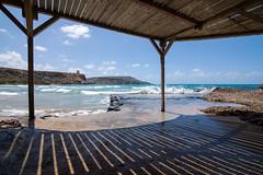 The beach (Ten Zielony) Tags: travel hot island ada spring malta traveller ola wiosna olek podr