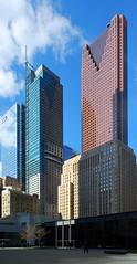 Toronto (Marcanadian) Tags: city toronto ontario canada building tower nova architecture hotel spring downtown centre may bank international van scotia trump der mies dominion density td rohe 2016