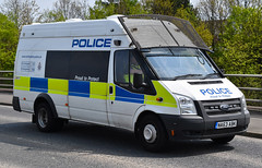 NA63ABK (Cobalt271) Tags: ford proud police northumbria transit to jumbo protect psu livery na63abk