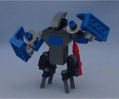 Daemon 4 (Mantis.King) Tags: lego scifi futuristic mecha daemon mech moc microscale mechaton mfz mf0 mobileframezero