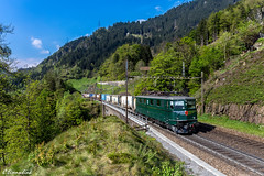 SBB Ae 6/6 11411 mit KLV (TheKnaeggebrot) Tags: train zug sbb 66 ae ffs contrainer gotthard cff gottardo intschi 11411 klv gotthardbahn ae66 nordrampe