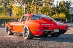 "Greg Thurmond's ""SCAR"" 1965 Corvette on Forgeline DE3C Concave Wheels (Forgeline Motorsports) Tags: chevrolet stingray chevy corvette c2 scar forged madeinusa wilwood forgeline forgedwheels ridetech forgelinewheels concavewheel lingenfelterperformanceengineering wilwooddiscbrakes de3c notjustanotherprettywheel"