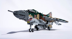 Mikoyan-Gurevich MiG-23M Flogger-B - 7 (Kenneth-V) Tags: cold scale plane airplane model war fighter lego aircraft aviation military air planes finished flogger airforce russian mig 136 gurevich mikoyan mig23 moc floggerb mig23m