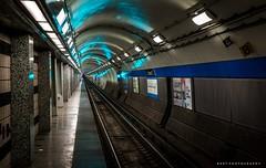 Underground (BartPhotography) Tags: city chicago station underground blueline metro