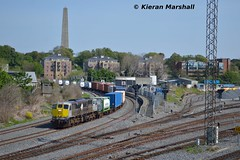 075 at Islandbridge Junction, 13/5/16 (hurricanemk1c) Tags: dublin irish train gm rail railway trains railways irishrail freighttrain generalmotors heuston 2016 075 emd 071 iarnrd ireann containertrain iarnrdireann iwtliner industrialwarehousingandtrading 1020northwallballina