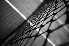 Tennis Net (Apionid) Tags: net film monochrome rollei nikon tennis fm2n day108366 retro400s 366the2016edition 3662016 17apr16