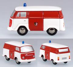 SCH-P-5801-VWT2 (adrianz toyz) Tags: schuco piccolo toy model volkswagen transporter t2 van diecast vw aircooled nuremberg fire service nürnberg nürnberger feuerwehr adrianztoyz