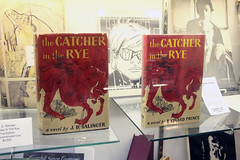 the Catcher in the Rye Salinger (The Kings Jester) Tags: red catcher rye salinger antiquarian book text