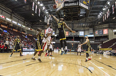 MAY-19-2016 GAME4 ROUND2 Windsor Express vs. London Lightning Playoffs (John Skinner-Windsor) Tags: london nikon finals lightning round2 game4 windsorontario nbl nikon70200 d4s underthenet d3s nikon1424 nikon2470 windsorexpress wfcucenter flooraccess