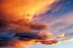burning skys (Rainer Schund) Tags: sunset nature clouds nikon sonnenuntergang cloudy pastel natur mini minimal burning cloudporn skys minimalistisch nikond700 naturemasterclass natureexploring
