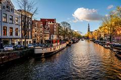 Amsterdam (Yako36) Tags: street city cidade netherlands amsterdam landscape canal rua channel fujifilmxm1 fujinon16503556