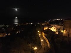 Cities At Night Grottammare Night Nightphotography Marche Region Piceno County Moon Italy (ciaobucarest) Tags: citiesatnight grottammare night nightphotography marcheregion picenocounty moon italy