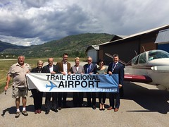 Expansion coming to Trail Regional Airport (BC Gov Photos) Tags: mountains plane airplane airport britishcolumbia air trail program access runway expansion toddstone bcgov