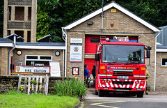 NK56LFS (firepicx) Tags: rescue fire community northumberland sabre service dennis wooler n13p1 nk56lfs