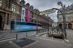 Metro c'est trop (apparencephotos) Tags: paris bus louvre palaisroyal ratp musedulouvre parisien rgionparisienne ouigo