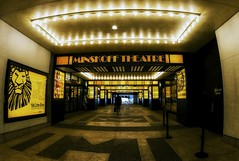 The Minskoff Theatre (Gary Burke.) Tags: minskofftheatre lionking show musical broadway theatre disney broadwayshow entertainment performance timessquare theater theaterdistrict disneymusical fb corridor hall architecture building nyc ny manhattan midtown newyorkcity newyork klingon65 gothamist garyburke canon eos 70d canoneos70d ilovenyc newyorklife nycdetails citylife iloveny cityliving ilovenewyork travel nyctravel city marquee iheartnewyork urban hallway