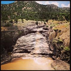 Gordon Creek Falls (BLMUtah) Tags: southwest nature public america outdoors utah photos explore lands federal learn employee blm bureauoflandmanagement