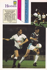West Ham United vs Liverpool - 1988 - Page 28 (The Sky Strikers) Tags: road park west cup liverpool magazine one official united ham to pound wembley upton littlewoods matchday