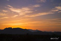 Big Bend Sunset (Alfred J. Lockwood Photography) Tags: alfredjlockwood nature landscape sunset mountain clouds bigbendnationalpark nationalpark spring texas silhouette chisosmountains