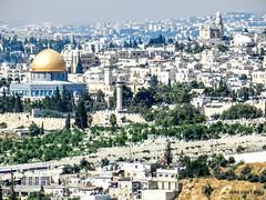 Jerusalem desde el Monte de los Olivos (pepelara56) Tags: israel biblia jerusaln
