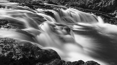 If you love water, Iceland is the place to be! (lunaryuna) Tags: iceland northiceland landscape river rapids spring season seasonalchange meltwater flowingwater le longexposure blackwhite bw monochrome lunaryuna