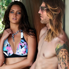 Invincible Summer (Bryan Barnes) Tags: summer summerdays summerlove girlinbikini bikinigirl beachcouple sexygirl hotguy longhairguy summertattoo prettygirl prettyeyes perfectcouple sexycouple summercouple vacation paradise dreamcouple prettypeople sunkissed invinciblesummer