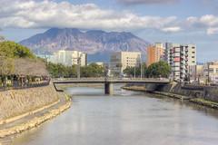 Kotsukigawa & Sakurajima HDR (JohnShaftFr) Tags: hdr japan kagoshima sakurajima