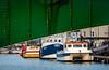203/366 Under The Bridge - 366 Project 2 - 2016 (dorsetpeach) Tags: weymouthharbour weymouth harbour dorset townbridge bridge sea boat 366project aphotoadayforayear 365 366 2016 second365project