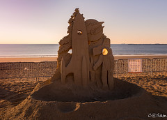 SSS_0231 (Sam 8899) Tags: sand sculpture beach sunrise morning light sky sea color