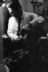 Taipei Dentist off Street Market 1969 (crockodile) Tags: 1960s 1969 dentist taipei taiwan asia