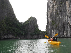 DSCF4829 (vbolinius) Tags: 2016 annike cave gerard halongbay islands kayak ocean travel vietnam