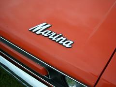 Beamish (32) (Hotrodngaz's Photo's) Tags: austin morris austinrovergroup marina classic coupe pickup van camper sandglow blaze 1970scar vehicle taxfreenostalgia