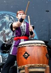 St. Louis Osuwa Taiko (Adventurer Dustin Holmes) Tags: 2016 japanesefallfestival event events performance performances concert concerts springfieldmo springfieldmissouri stlouisosuwataiko drummer