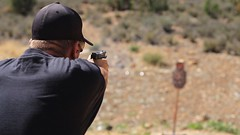 Image5 (RED ROCKS MEDIA) Tags: guns range pistol 9mm utah glock rsr targets