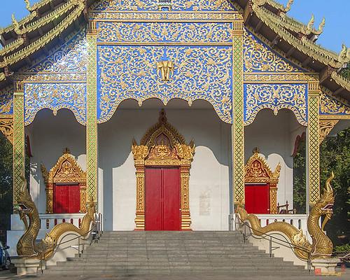 Wat Santiwan Phra Wihan Entrance (DTHCM0981)