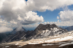 Zugspitze (sillie_R) Tags: austria cloud germany landscape mountain rock snow zugspitze ehrwald tirol
