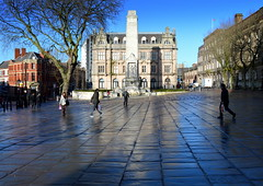 Damp Preston (Tony Worrall) Tags: preston north northwest lancs lancashire england northern uk update place location visit area county attraction open stream tour country welovethenorth unitedkingdom flag flagmarket wet people centre city lines candid shoppers cenotaph