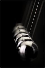 Macro Mondays - In A Row - Newton's Cradle - Explore 04 Oct 2016 (andymoore732) Tags: macromondays macro mondays inarow newtonscradle chrome spheres executivetoys lighting studio bowens andymoore colour nikon d500 afs vr micronikkor 105mm f28gifed challenge theme flickr