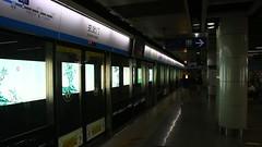 Nanjing_U-Bahn_U-Bahnhof_Xuanwumen_U-Bahn-Linie_1_20_09_2016_MVI_3168 (Bernhard Kumagk) Tags: nanjing china asien xuanwumen oberleitung catenary provinz jiangsu provinzjiangsu asia asie chine bernhardkusmagk bernhardkussmagk normalspur 1435mm regelspur vollspur standardgauge voienormale kolejnormalnotorowa bitolapadro normalspor normaalspoor  normalspr ubahn subte subway underground metro mtro metr fldalattivast untergrundbahn undergrundsbane      tunnelbane tunnelbana chikatetsu