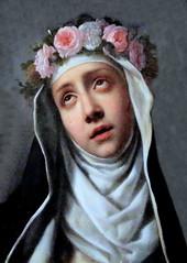 IMG_9316C Carlo Dolci. 1616-1686. Florence. Sainte Rose.   Florence. Palazzo Pitti. Galleria Palatina. (jean louis mazieres) Tags: peintres peintures painting muse museum museo carlodolci