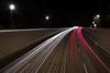 Südtangente (bomme) Tags: auto karlsruhe langebelichtung licht lichtspuren nacht strase südtangente verkehr straãe sã¼dtangente