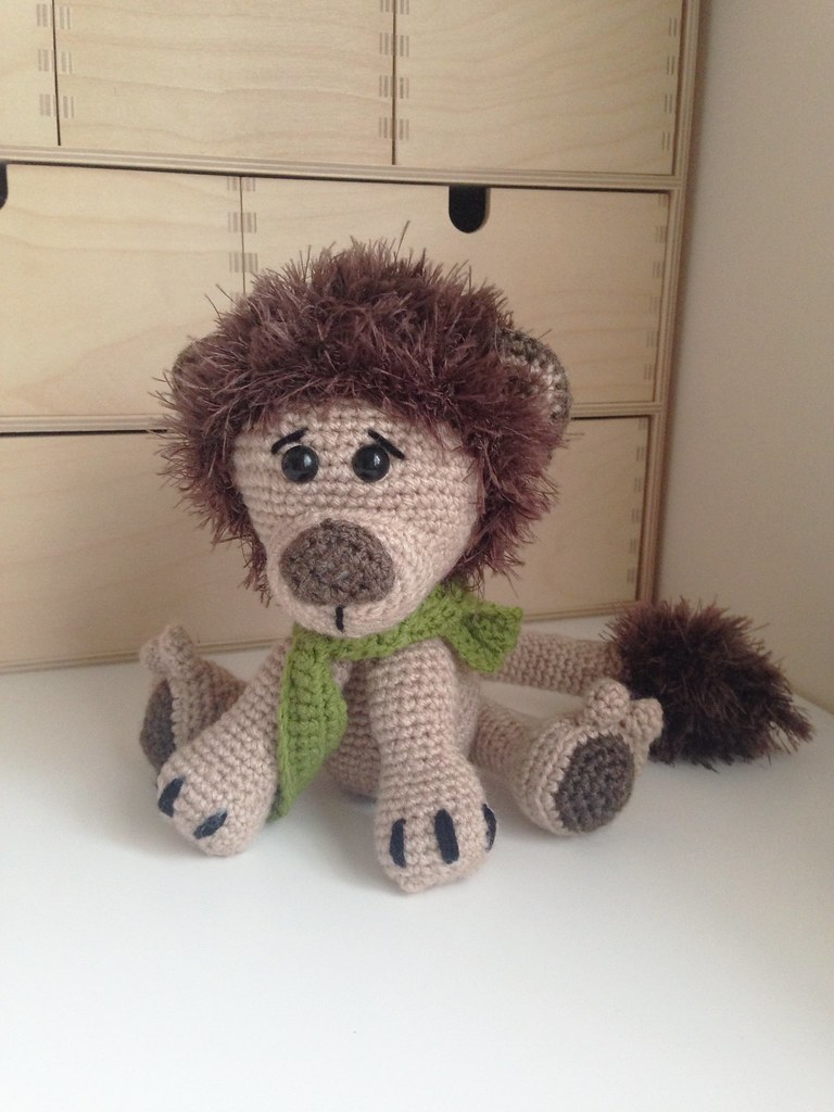 Amigurumi Lion Perriton : The world s most recently posted photos of amigurumi and